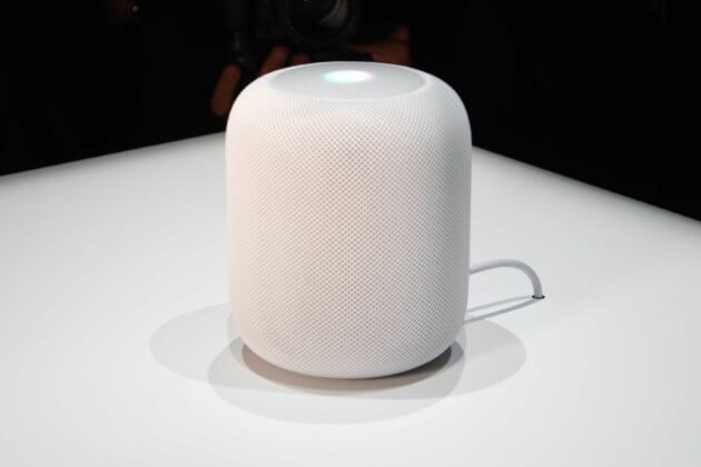 Apple HomePod beyaz